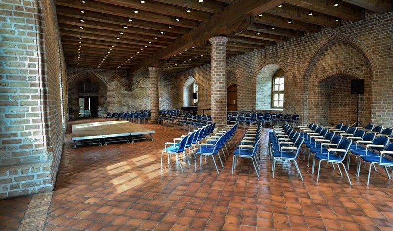Gotischer Saal fürs Konzert hergerichtet, Foto: Zitadelle Berlin